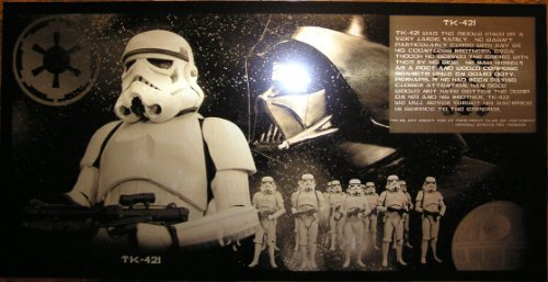 Star Wars スターウォーズ Stormtrooper ストームトルーパー TK-421 Geekograph Ltd. Edition Metal Art [並行輸入品]