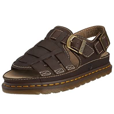 Dr martens mens 8092 fisherman sandal dark for Amazon dr martens