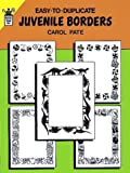 img - for Easy-to-Duplicate Juvenile Borders (Dover Quick Copy Art) book / textbook / text book