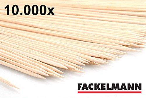 Fackelmann Schaschlik-Stäbchen Bambus 20 cm Schaschlik-Spieße Grill-Spieße (10.000) günstig bestellen