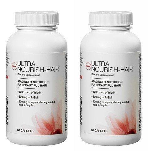 gnc-womens-ultra-nourish-hair-caplets-120-count-two-bottles-each-of-60-caplets-120-total-by-gnc