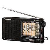 パナソニック ワールドバンドラジオ 海外放送・国内放送受信ラジオ ブラック RF-B11-K