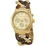 Michael Kors Chain Link Acrylic Gold-tone Ladies Watch MK4222