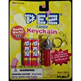 Pez Candy Elephant Keychain New On Card