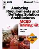 echange, troc Scott Wilson - ANALYZING REQUIREMENTS AND DEFINING SOLUTION ARCHITECTURES MCSD TRAINING KIT