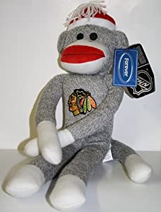 NHL Chicago Blackhawks 20'' Team Sock Monkey
