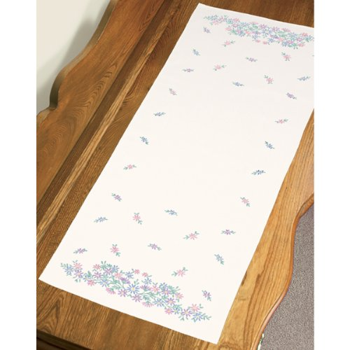 Dimensions Needlecrafts Embroidery, Wildflowers Dresser Scarf