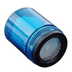 Mini Blue Glow LED Light Water Stream Faucet Tap Bathroom Kitchen 3.5cm