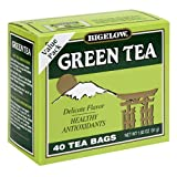Bigelow Green Tea, 40-Count Boxes (Pack of 6)