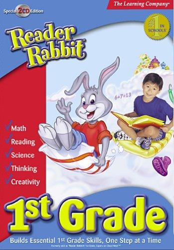 HB Reader Rabbit 1st Grade 2002  (PC and Mac)