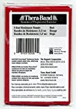 Thera-band 20530 Latex Exercise Bands, Medium, Red, 5 Inch X 5 Inch