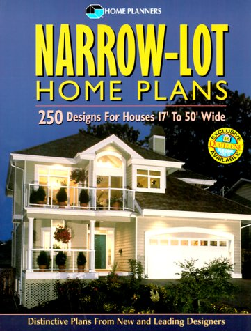 Narrow-Lot Home Plans: 250 Designs for Houses 17' to 50' Wide (Narrow House Plans compare prices)