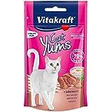 Vitakraft Katzensnacks, Fleischige Häppchen mit Leberwurst,...