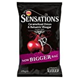 Walkers Sensations Balsamic Vinegar & Caramalised Onion 175g
