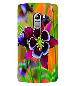 ColourCraft Beautiful Flower Design Back Case Cover for LENOVO VIBE X3 LITE