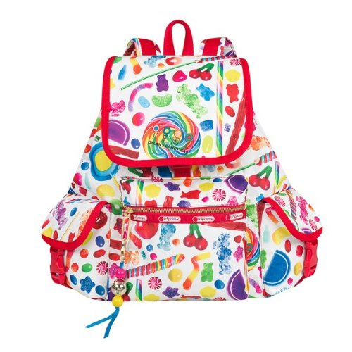 Dylan's Candy Bar LeSportsac Voyager in Candy Spill
