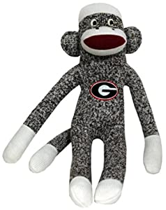 NCAA Georgia Bulldogs Plush Sock Monkey