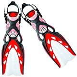 Mares X - Stream Fins. Size Small, UK 3 - 6. Colour Red