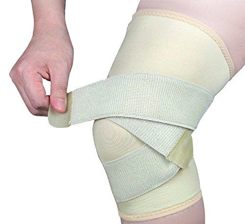 Bonmedico® Equil, die ideale Kniebandage, sie ist fixierbar und sorgt für mehr Stabilität beim Sport, im Alltag, beim Wandern, bei der Gartenarbeit, wirkt schmerzlindernd bei Gelenkkrankheiten wie Arthrose, schützt beim Laufen und Joggen, für Damen und Herren, rechts und links tragbar