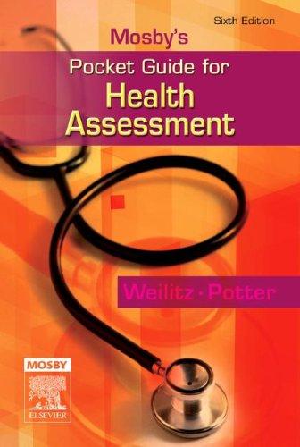 Mosby's Pocket Guide for Health Assessment, 6e (Nursing...