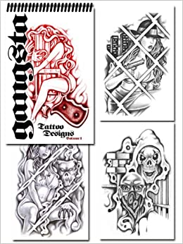 gangsta tattoo designs volume 1 various artists books. Black Bedroom Furniture Sets. Home Design Ideas