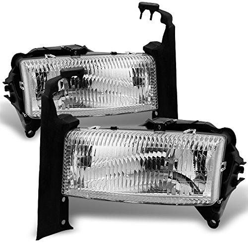 dodge-dakota-durango-chrome-driver-left-passenger-right-side-headlights-replacement-pair-set