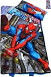 "Spiderman Sleeping Bag for Kids with Pillow, High Quality (30"" X 54"") & Stickers…"