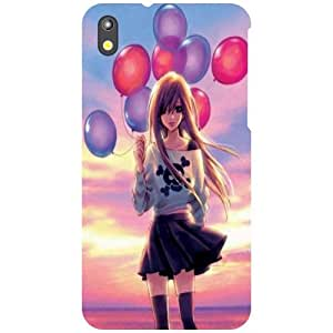 Printland Balloons Phone Cover For HTC Desire 816G