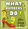 "Counting: ""What Numbers Do When Nobody Is Home"" (picture books, math for kids)"