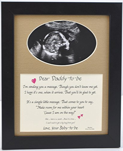 The coolest gifts for expecting dads gift canyon daddy to be ultrasound picture frame negle Choice Image