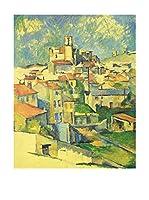 Legendarte Lienzo Gardanne di Paul Cezanne