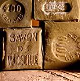 Savon de Marseille (Marseille Soap) pure olive oil soap from France Traditional Method, All Hand-Made