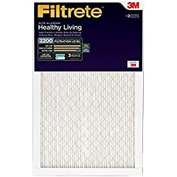 Filtrete Healthy Living Elite Allergen Reduction Filter, MPR 2200, 16 x 25 x 1-Inches, 2-Pack