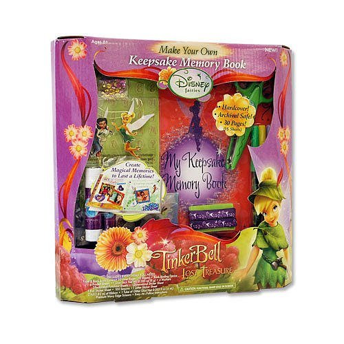 Disney Fairies Keepsake Scrap and Memory Book set - 1