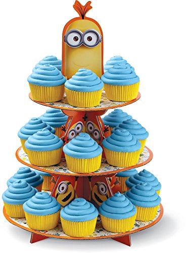 Wilton 1512-4600 Despicable Me Minions Treat Stand, Multicolor - 1