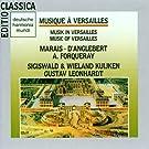 Musique � Versailles-Marais-Anglebert-Forqueray