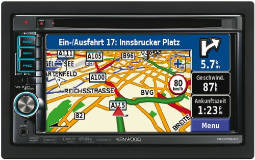 Kenwood DNX5260BT 6 inch European Navigation Multimedia System with Hands-free Bluetooth / USB / iPod-iPhone Connection / AV AUX Input