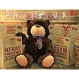 Extra Large 80Cm Super Cuddly Plush Giant Sitting Teddy Bear Soft Toy - Brownieby Teddy Bears