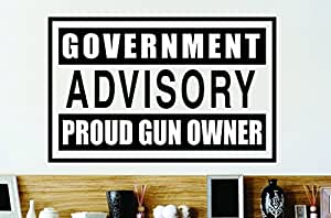 Design with Vinyl Zzz 274 2 Decor Item Government Advisory ...