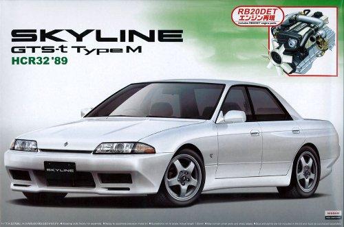1/24 ザ・ベストカーGT No.24 HCR32 スカイライン GTS-t typeM エンジン付