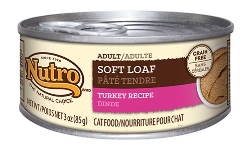 Nutro Adult Cat Food Soft Loaf Turkey Recipe