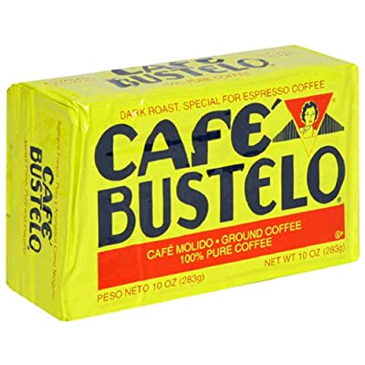 Café Bustelo Coffee Espresso, 10 Ounce Bricks (Pack of 4) from Cafe Bustelo
