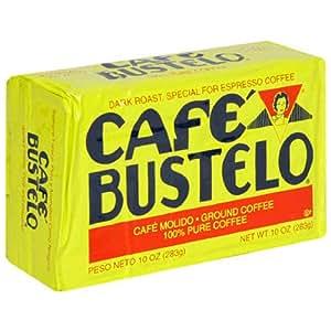 Cafe Bustelo Coffee Espresso, 10-Ounce Bricks (Pack of 4)