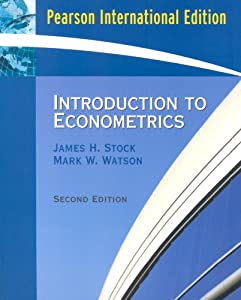 james stock and mark watson introduction to econometrics pdf