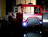 Single Fire Engine Kid 's Bett - 5