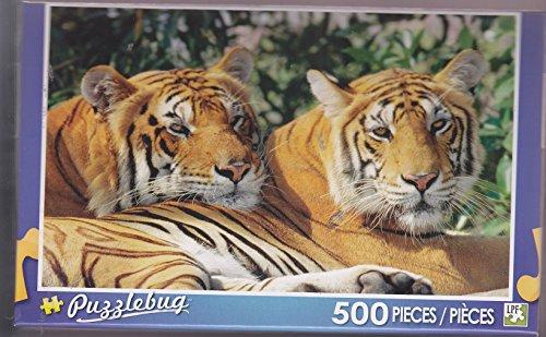 Puzzlebug 500 ~ Asian Bengal Tigers - 1