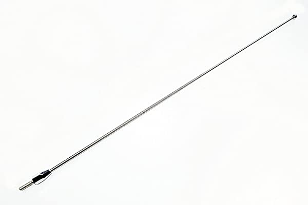 """27/"""" Black Spring Stainless AM//FM Antenna Mast  Fits 1995-2015 Toyota Tacoma"""