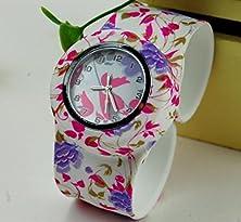 buy Sunshine Day 2015 New Fashion Leather Geneva Rose Flower Watch Women Dress Watch Stylish Quartz Watches Orologio Da Polso