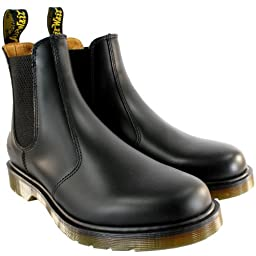 Mens Dr Martens 2976 Classic Chelsea Style Leather Ankle High Boot - Black - 10