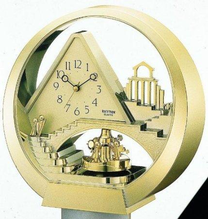 Rhythm Clocks Stairway to Heaven - Model 4RG573WT18 stairway to heaven